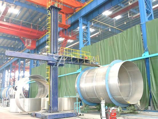 manipulators,flux recovery machine,welding machine,drying